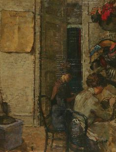 Les Modistes by Walter Richard Sickert (attributed to)
