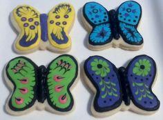 Butterflies Cookies 1