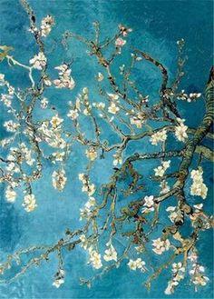 Almond Blossom 1890 Vincent Van Gogh Art