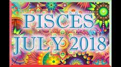 PISCES LOVE TAROT READING JULY 2018! Tarot Horoscope, Love Tarot Reading, Sagittarius Love, Leo Love, Horoscopes, Neon Signs, Youtube, Cancer, Horoscope