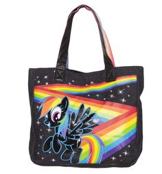My Little Pony Rainbow Dash #Tote from Loungefly xoxo #MLP Bethany would love this :D