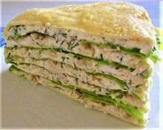 Protein cake with chicken breast for drying! Ketogenic Recipes, Diet Recipes, Chicken Recipes, Cooking Recipes, Healthy Recipes, Easy Recipes, Protein Cake, Good Food, Yummy Food