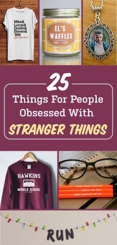 If you know someone obsessed with stranger things then you will love these gift ideas!