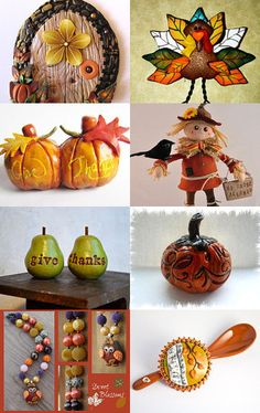 A Polymer Clay Thanksgiving Celebration
