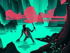 Popshot Magazine: Wild by Brian Miller, via Behance
