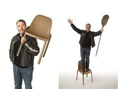 Philippe Starck Creates Chair From Industrial Waste - DesignTAXI.com