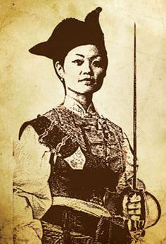 Cantonese pirate Ching Shih (1775-1844) left prostitution to terrorize the China Sea with a fleet of 1,800 ships & more than 80,000 pirates. She was so powerful that the Chinese emperor offered her amnesty. So she took her loot, opened a gambling house & lived happily for a further 34 years.