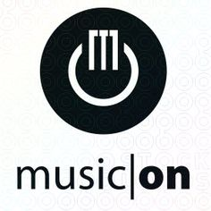 music on piano power logo