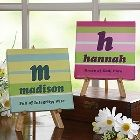 Unique Gift Idea - Name Meaning Personalized Canvas Gift - Crazy For Stripes Stick N Poke, Diy Tattoo, Personalised Canvas, Personalized Baby Gifts, Cute Crafts, Crafts For Kids, Craft Gifts, Diy Gifts, Name Canvas