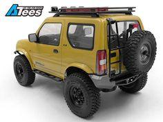 CCHand releases a new series of scale body accessories for the MST Suzuki Jimny body. Jimny Suzuki, Suzuki Jimny Off Road, Jimny 4x4, Samurai, Kei Car, Grand Vitara, Rc Crawler, Rc Trucks, Roof Rack