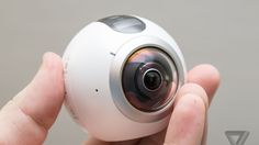 Samsung's Gear 360 camera looks like an eyeball and shoots 360-degree video