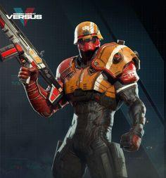 ArtStation - Juke - Modern Combat Versus - Gameloft MTL, Rodrigue Pralier
