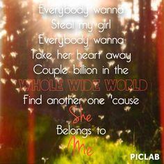 She belongs to me || Steal My Girl