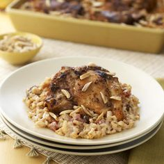 Moroccan-spiced Chicken With Rice Bake Recipe