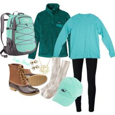leggings + ankle socks + duck boots + long sleeve frocket + hat + Patagonia pullover
