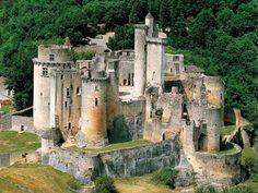 Saint-Front-sur-Lémance (47. Lot-et-Garonne) - Bonaguil Castle / Schloss Bonaguil / Château de Bonaguil