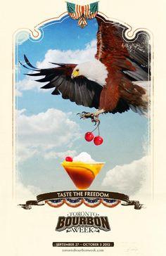 Screaming Eagle - Toronto Bourbon Week Print Ad