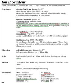 Journalism Resume Public Relations  Top Places To Work In Pr  I ❤ Pr  Pinterest