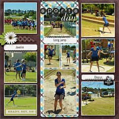 Scrapbook Page Starters: Arrange Photos and Elements in Three Columns   Stefanie Semple   Get It Scrapped