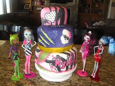 Moster high cake