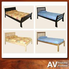 Looking for that perfect panel or sleigh bed – come to AV Produkte / AV Products for our wide range of panel and sleigh bed for just what you are looking for. Come visit us today. Entryway Bench, Dining Bench, Sleigh Beds, Solid Wood, Range, Furniture, Home Decor, Products, Entry Bench
