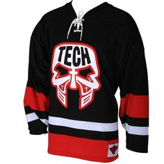 2b42d3c7becc Tech - Black Hockey Jersey 2012 Strange Music
