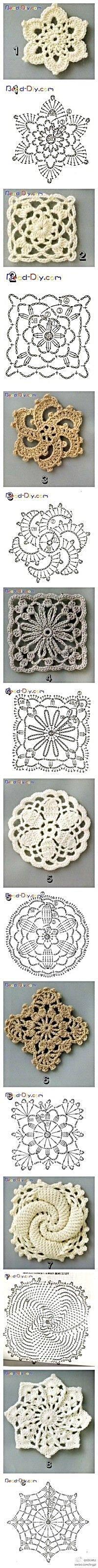 snowflakes crochet 199
