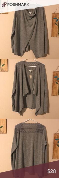 ⬇️PRICE DROP⬇️Maurices XL Asymmetrical Cardigan NWT XL Grey Asymmetrical Cardigan. From a pet friendly smoke free home. Maurices Sweaters Cardigans