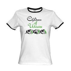 Футболка жіноча лоза Children of Ukraine / Україночка - футболки для гарненьких україночок та їх хлопців