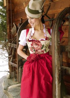 Read More About Dirndl Sportalm Amberg, buy apron included in costumes Angermaier online. Countryside Fashion, German Fashion, Medieval Dress, Costume, Lovely Dresses, Traditional Dresses, Style Inspiration, Clothes, Carnival