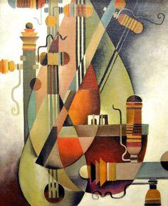"""Viktor Schreckengost """"Moroccon Lute Schreckengost (June 1906 – January was an American industrial designer as well as a teacher, sculptor, and artist. Harlem Renaissance, Abstract Watercolor, Abstract Art, Cubist Art, Bauhaus, Cleveland Art, Pop Art, Mid Century Art, Pottery Designs"""