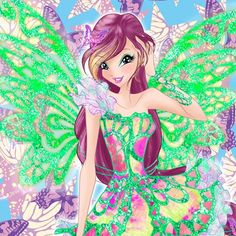 Winx Club | Roxy Butterflix Art