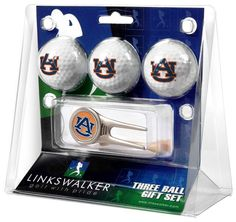 Auburn Tigers - Cap Tool 3 Ball Gift Pack