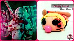 Suicide Squad | Polymer Clay | Harley Quinn | Tsum Tsum | Tutorial