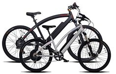 "2 Prodecotech Electric Bikes- ProdecoTech Phantom X R V5 36V600W 8 Speed Electric Bicycle 14Ah Samsung Li Ion, Matte Black Bicycle AND Genesis V5 36V600W 8 Speed Electric Bicycle, Brushed Aluminum, 18""/One Size - http://www.bicyclestoredirect.com/2-prodecotech-electric-bikes-prodecotech-phantom-x-r-v5-36v600w-8-speed-electric-bicycle-14ah-samsung-li-ion-matte-black-bicycle-and-genesis-v5-36v600w-8-speed-electric-bicycle-brushed-aluminum-18/"