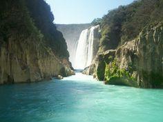 Cascadas de Tamul - Mexico [ MexicanConnexionForTile.com ] #mexico #Talavera #handmade