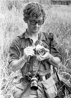 "War Photojournalist and Nikon Photographer Dana Stone, captured by the Viet Cong after leaving Phnom Penh April 6th, 1970, along with Photojournalist Sean Flynn. Their bodies have never been recovered. Stone and Flynn's disappearance is chronicled in Perry Deane Young's 1975 memoir, ""Two of the Missing."""