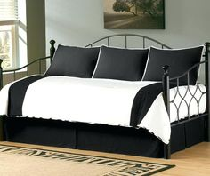Pink And Black Daybed Bedding Daybed Covers Black And White Black And White Daybed Bedding Black Daybed Bedding