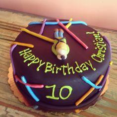 Laser Tag Birthday Cake by 2tarts Bakery New Braunfels, TX  www.2tarts.com