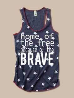 Home of the Brave - Stars Tank