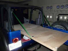 Sleep in your Jeep - Page 2 - Jeep Wrangler Forum Jeep Wrangler Camper, Jeep Wrangler Forum, Jeep Tj, Jeep Camping, Diy Camping, Eugene The Jeep, Door Accessories, Vehicle Accessories, Jeep Hacks