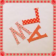 Letras decorativas niñas by Tony & Lola