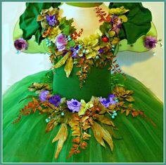 Woodland Fairy costume - childs size 4/6 -. $65.00, via Etsy.