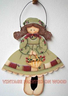 Country girl wall hanging