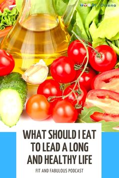 "What Should I Eat to Lead a Long and Healthy Life? With Dr Alan Desmond We all want to lead a long, healthy and active life. What we eat is a major contributor to our health and longevity. What should we eat? What should we avoid? And why? Dr Alan Desmond ""the Devon gut doctor"" is here to help us out. #healthy #healthyeating #eatinghealthy #healthylife #healthylifestyle Healthy Food Choices, Healthy Diet Plans, Eating Healthy, Healthy Tips, How To Stay Healthy, Healthy Living, Healthy Recipes, Nutritional Supplements, Plant Based Diet"