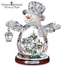 Thomas Kinkade Snowman Figurine $99.99 #ArtOfGiving #Christmas