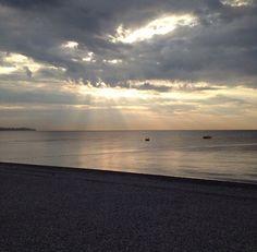 #landscape #sunset #sea