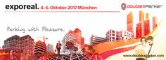 Welcome to international trade fair exporeal 2017 and visit our booth: Parking with Pleasure for real eastate, property and investment.