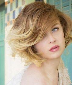 Ombre Kısa Saç Renkleri