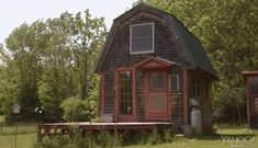 Burt's Bees founder lives in a tiny house!  © Yahoo! Movies on YouTube